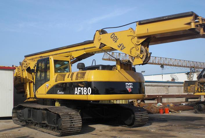 Used rotary drilling rig IMT AF 180C for sale
