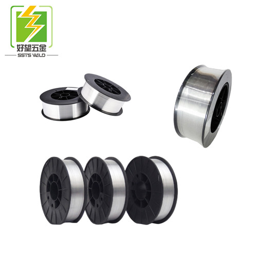 Environmental technology copper free welding wire welding consumables AWS ER70S-6/ER50-6 no-copper w