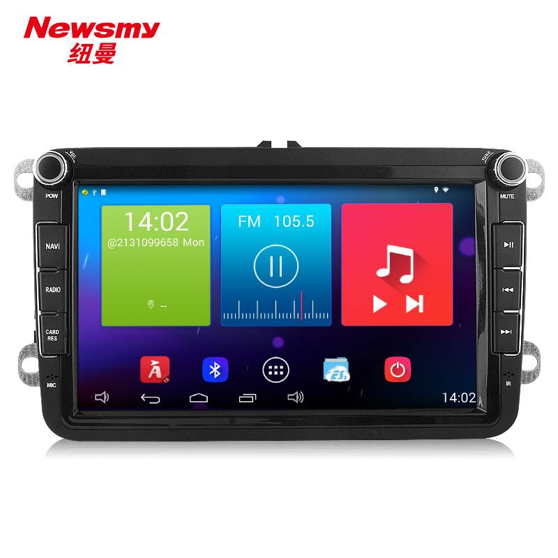 NR5261 VW Magotan 8inch 4core built-in Pure Android4.4 32G flash CarPad 3