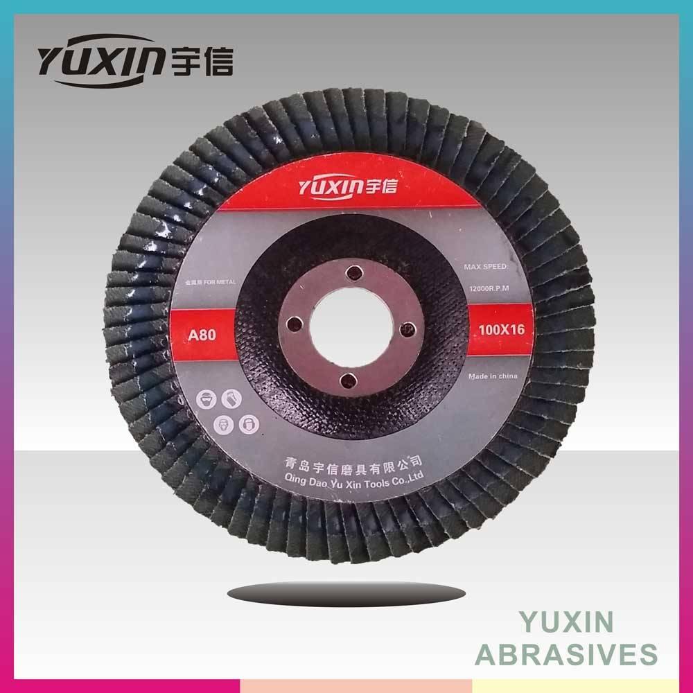 High Quality Zirconia Aluminum Oxide Flap Disc