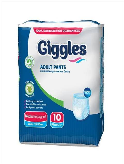 Giggles Adult Pants Medium