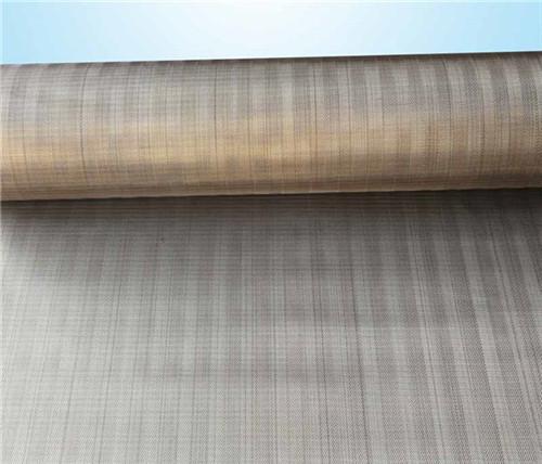 Low carbon steel fine wire mesh