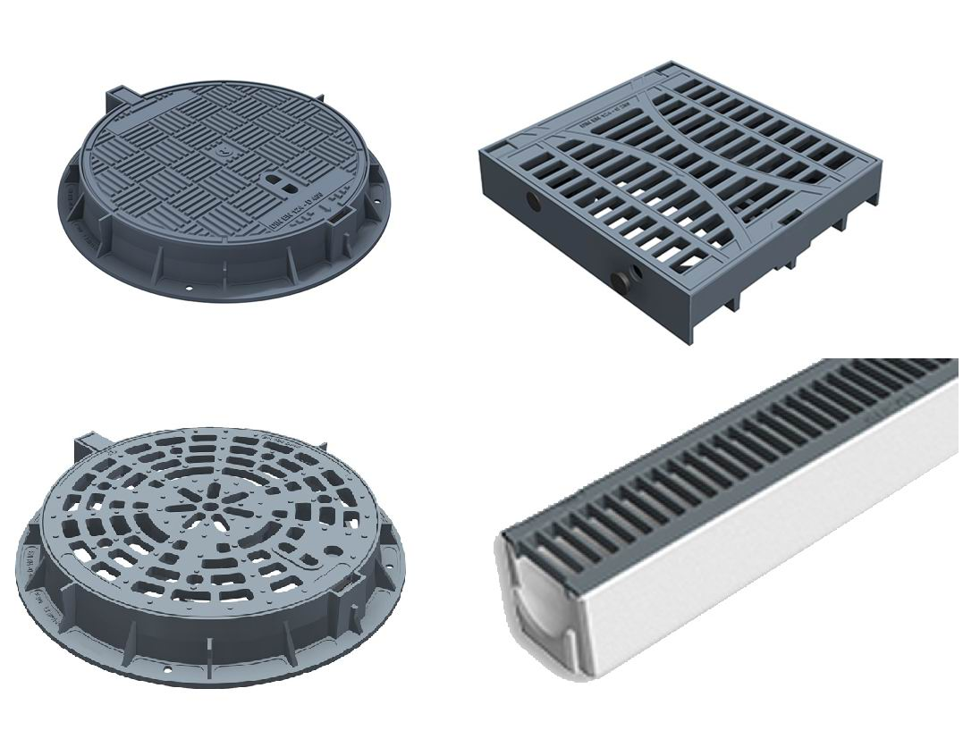 Manhole Cover, Trench Grating, Grate OEM Manufacture