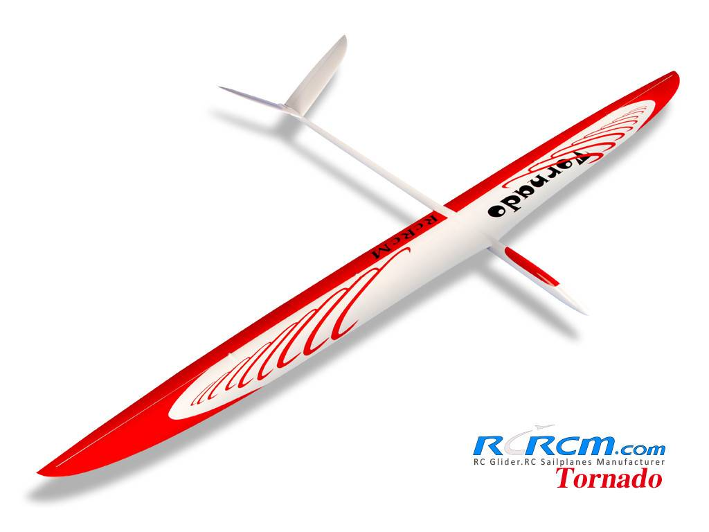 Tornado-3m full composite rc sailplane