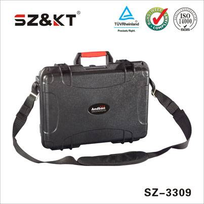 Hard plastic waterproof sample carry equipment weapon case