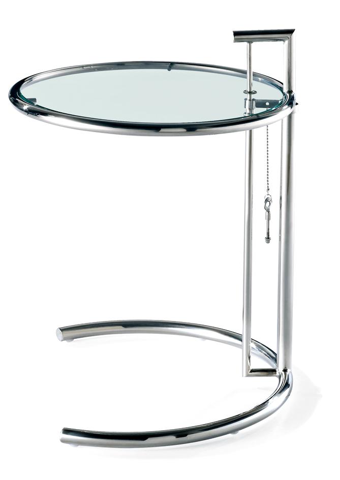 Eileen gray adjustable coffee table