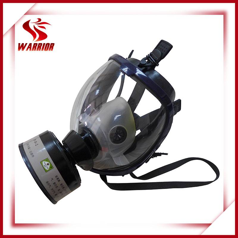 Chemical respirator filter gas mask for fumes