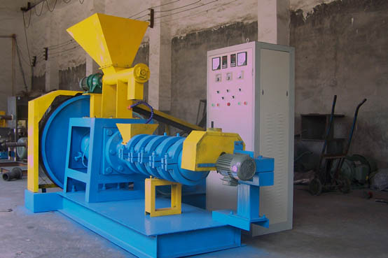Complete line of expanded fishmeal pelletizer
