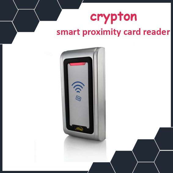 Metal waterproof RFID card reader