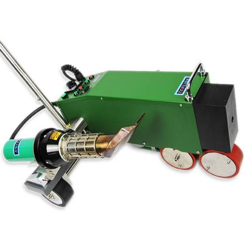 Roofing and waterproofing hot-air welding machine