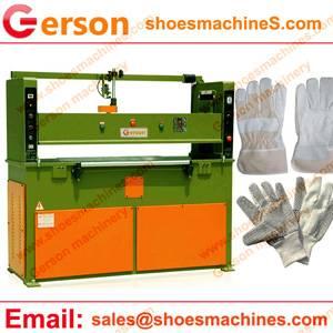 Canvas Gloves Rlydranlic Cutting Press