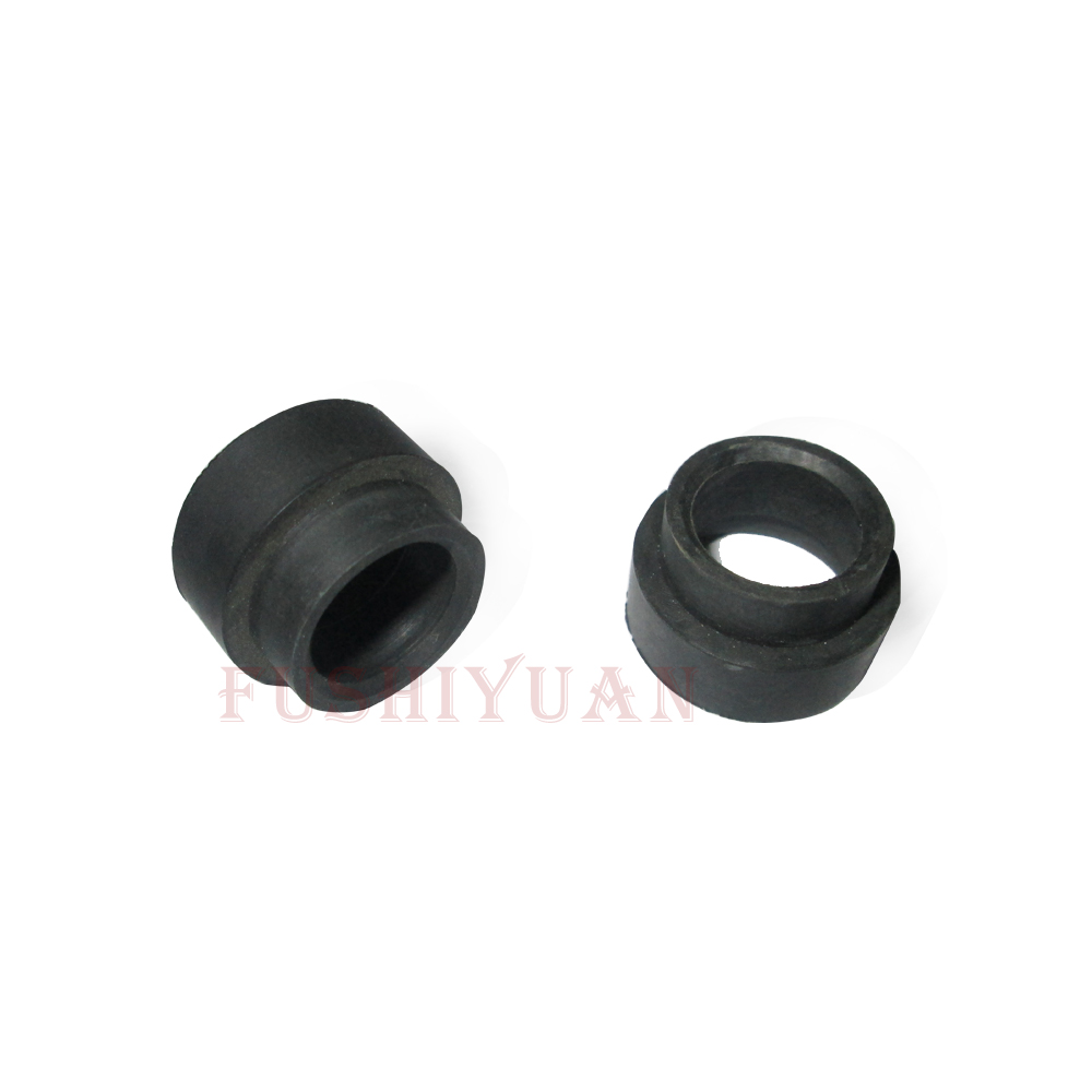 Custom made metal inserted rubber grommet