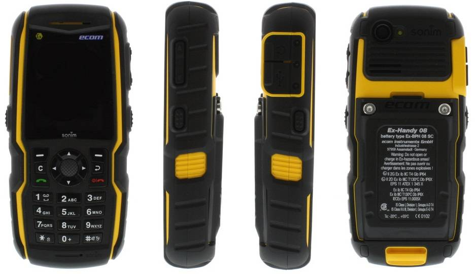 Explosion Proof Mobile Phone