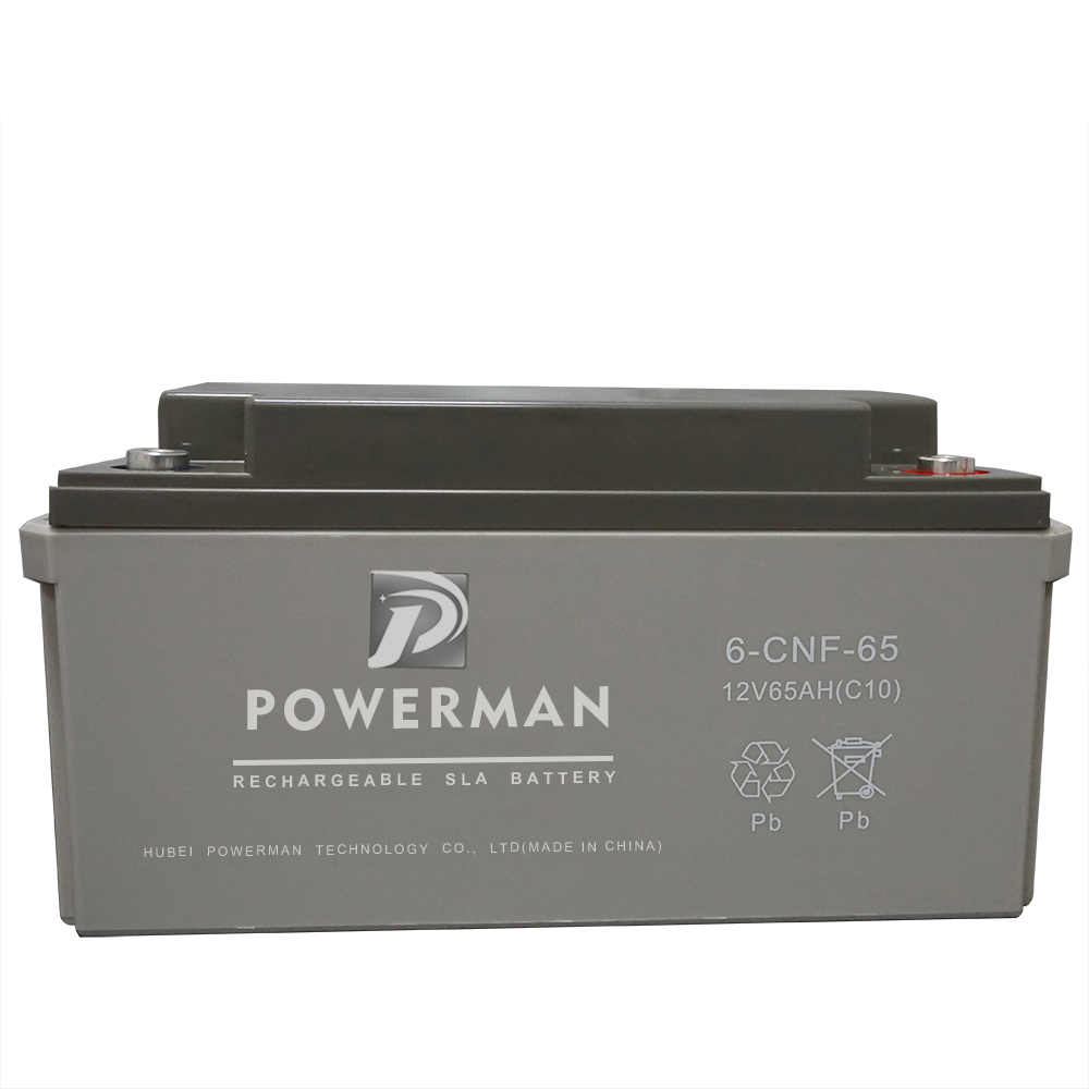 12V 65Ah Lead-acid UPS AGM GEL VRLA Storage Solar Battery