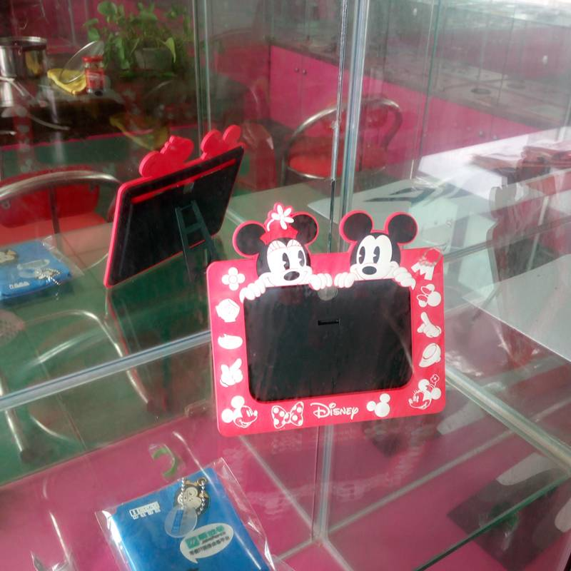 cartoon character PVC photo frame customized size and design