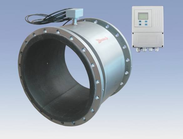 large line size Remote Type Digital Electromagnetic Flow Meter for Water