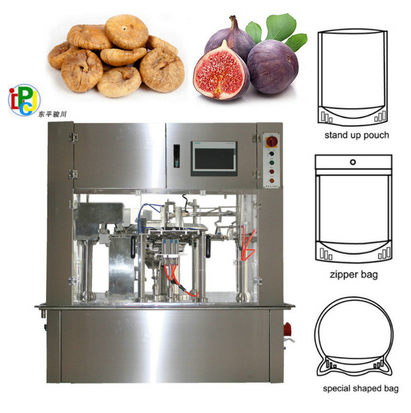 Dried Fruit Strawberry Premade Pouch Packing Machine