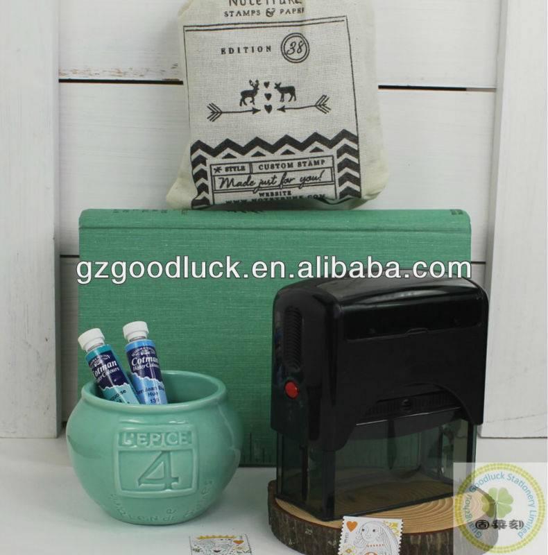 Custom rectangle personalized address rubber stamp/Custom rectangle family address rubber stamp