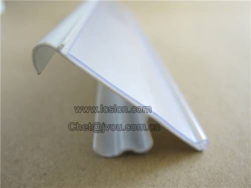 Supermarket plastic data strip price holder LC-515