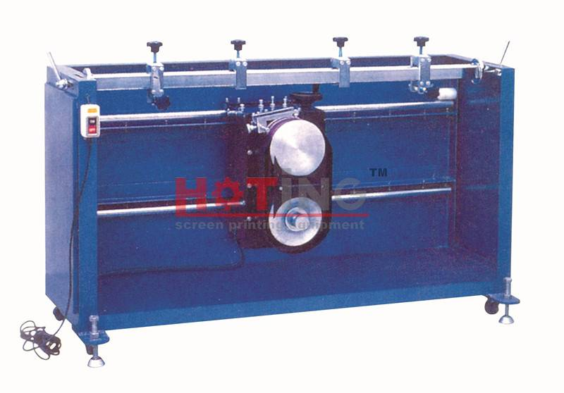 Manual squeegee grinding machine