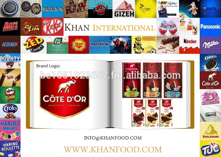 Cote D'or 130g & 150g - Fruit Fusion