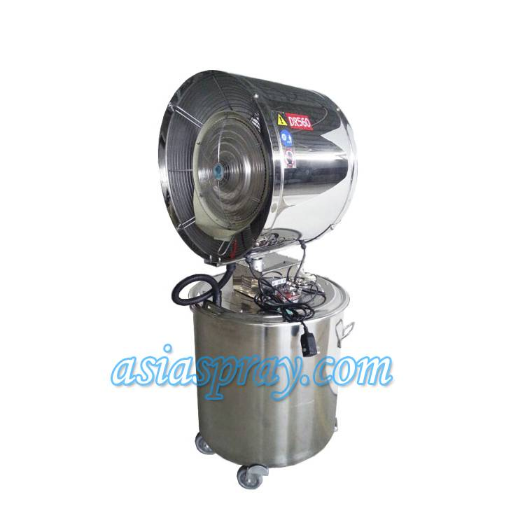 Deeri Oscillating and large capacity stainless steel water spray industrial factory blower