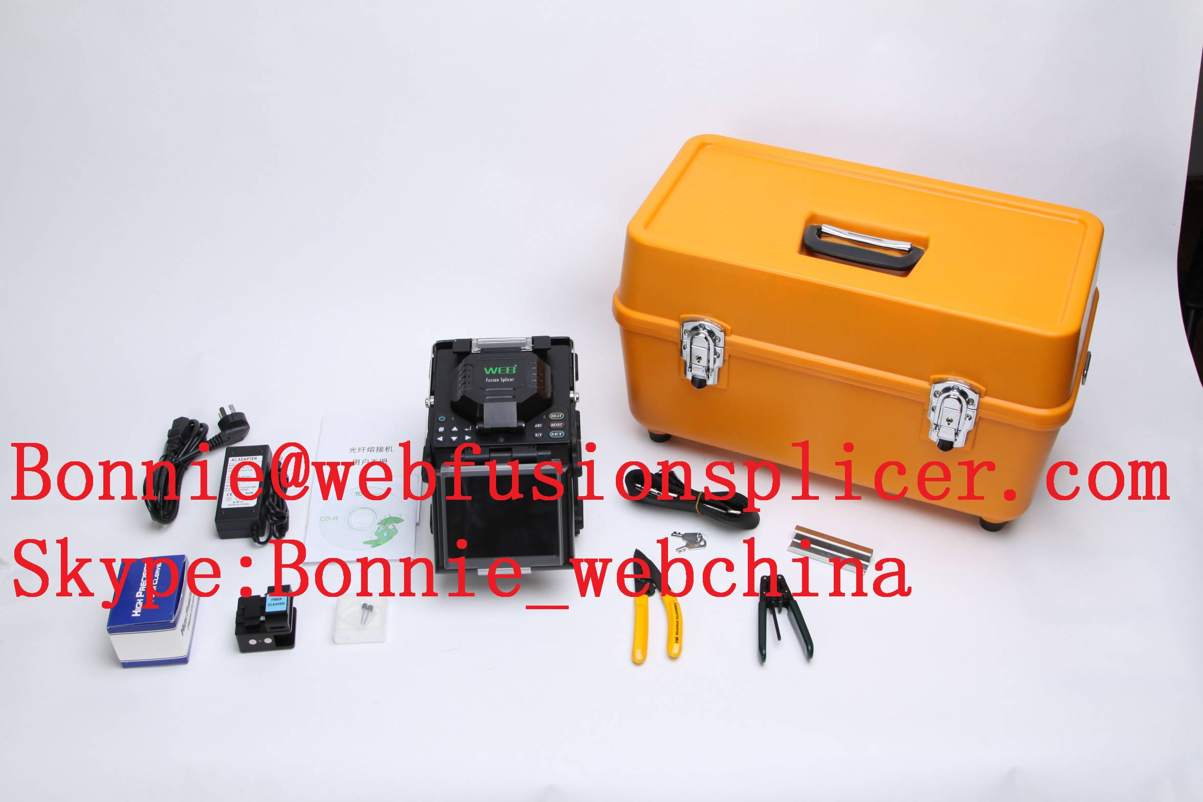 China Factory Customize Optical Fiber Fusion Splicer