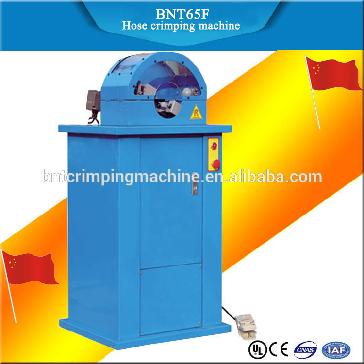 BARNETT BNT65F hydraulic hose crimping cutting skiving machine in one equipment for hydraulic hose
