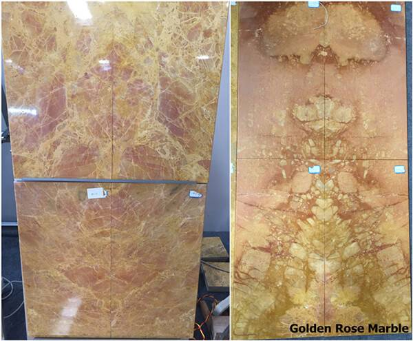 Yellow Marble Tiles (Cut To Sizes) - Golden Yellow