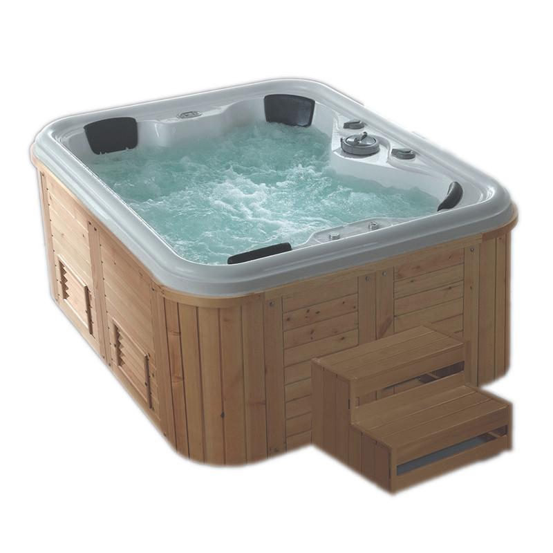 Foshan outdoor massage hot tub 4 person spa bathtub