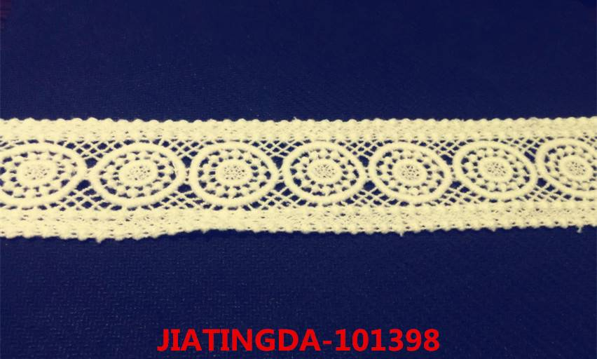 A0 101398 water-soluble cotton embroidered lace fabric
