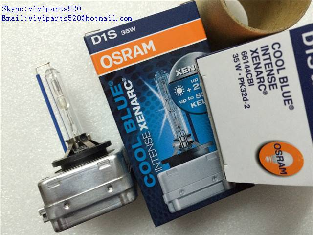 Xenon Bulb HID Lamp D1S Osram 5500k 66144CBI 35W 12V For Many cars