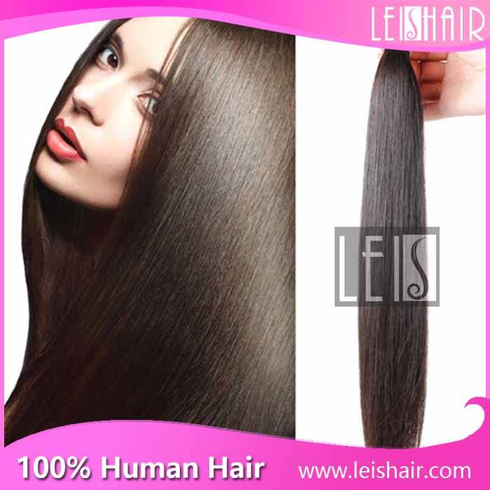 Leis hair Grade 6A Brazilian hair straight hair extension