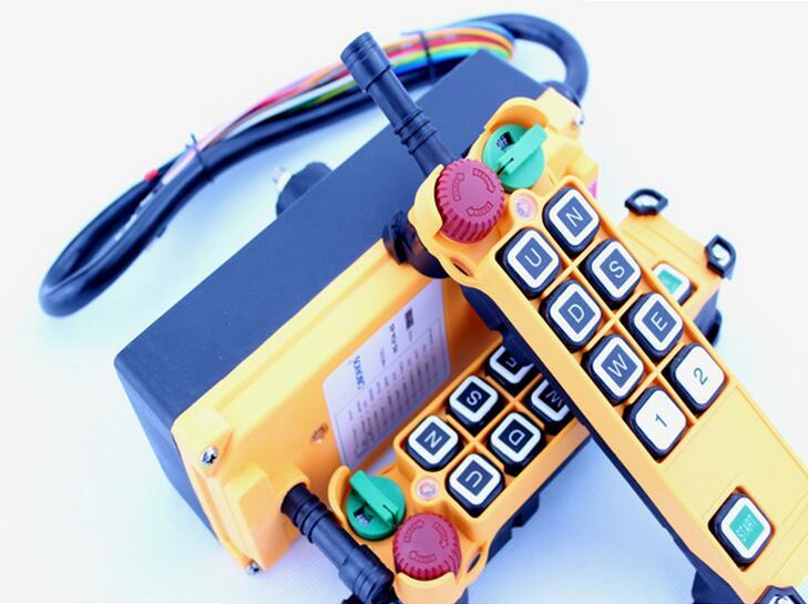 Hoist crane radio remote control switch