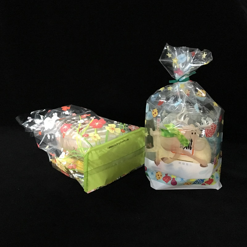 Bopp block bottom bag for candy or gifts
