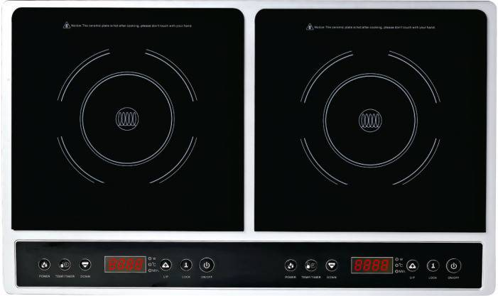 double burners Induction Cooker with cheap Price
