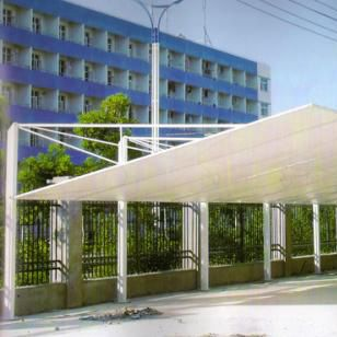 Most competitive price car parking shade canopy