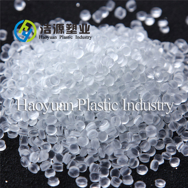 Transparent PVC compound for plastic shoes