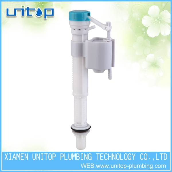 Toilet water tank fill valve fittings