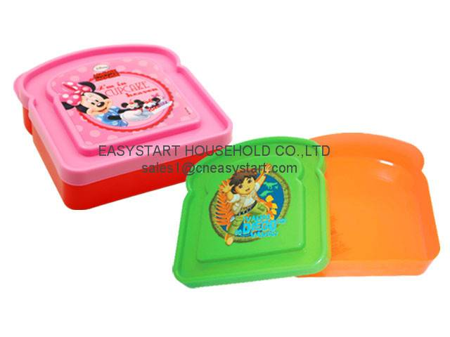Plastic Sandwich Box
