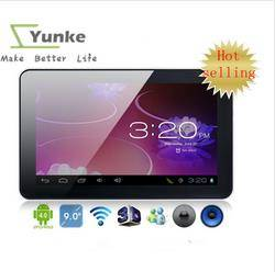 9 inch AllWinner A13 Android 4.0 Tablets 512M 8GB Capacitive Touch Screen Webcam Tablet PC