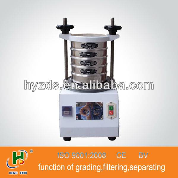small volume testing sieve machine for laboratory