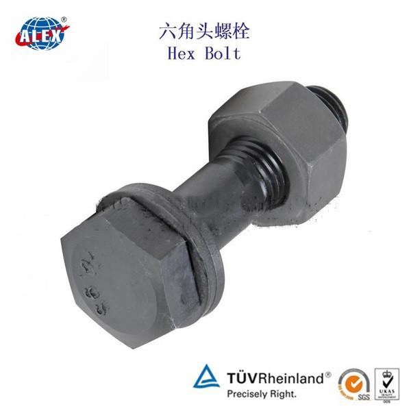 Hex Head A-325 Structural Bolt for Crane rail fastener