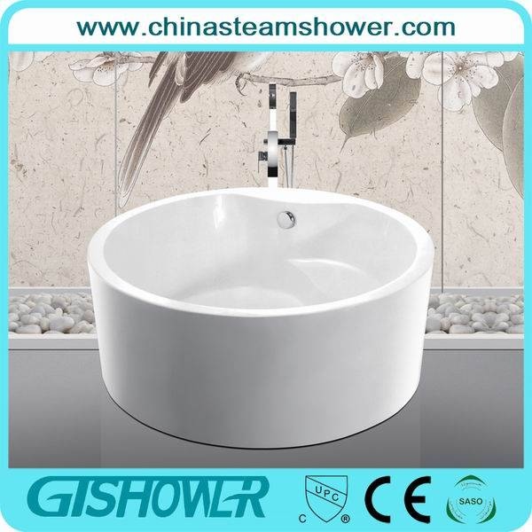 Two Person Round Freestanding Bathtub (KF-759)