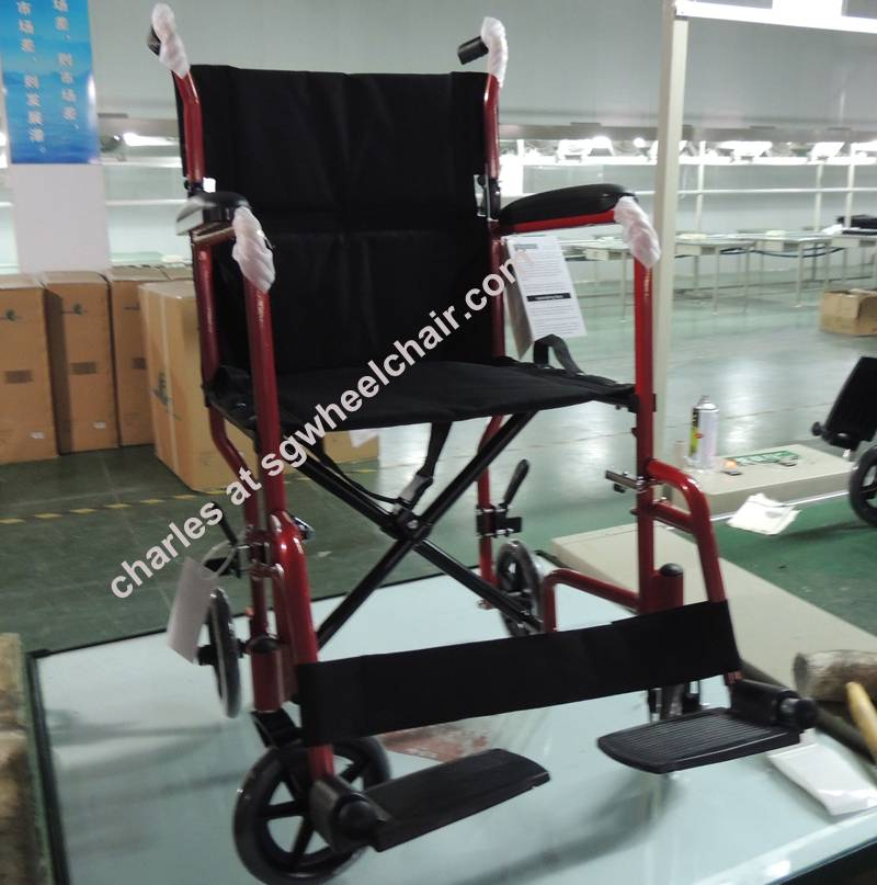 Best selling transport wheelchair with best design