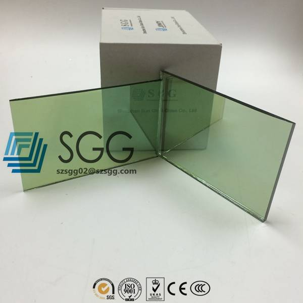 4mm 5mm 5.5mm 6mm 8mm 10mm F/French Green Reflective Glass Price