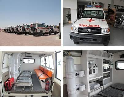 Ambulance 4x4 Toyota Land Cruiser