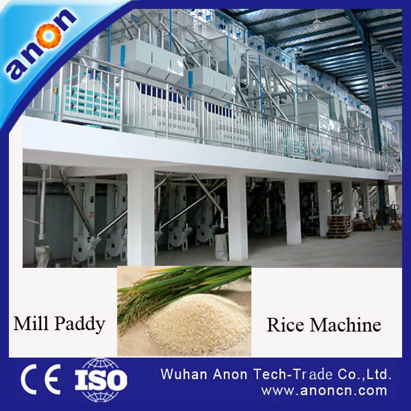 ANON complete rice mill 100t/d rice mill