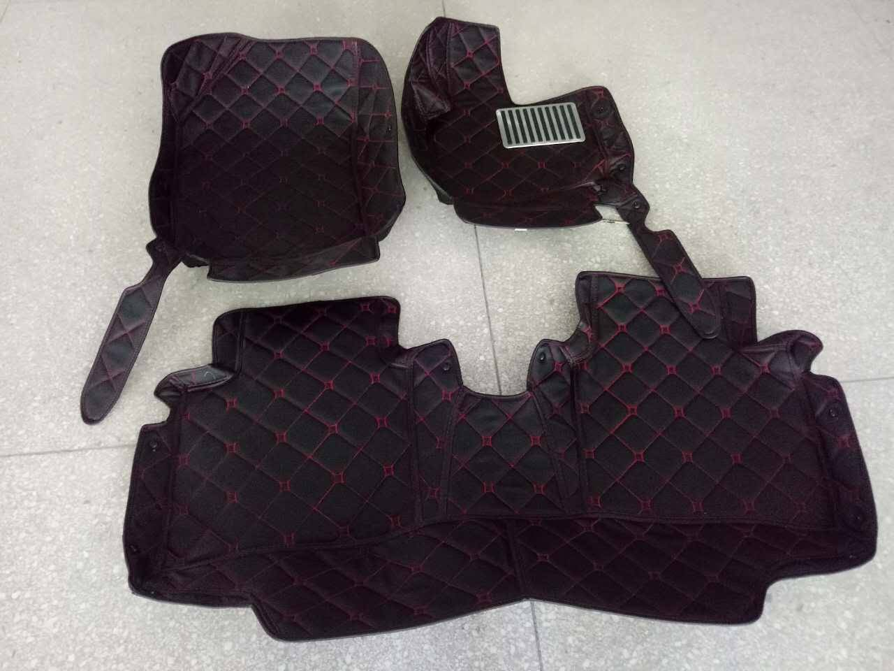 Right Hand Steer Car Mats for Audi A4, Leather Car Mats, 5D XPE Car Floor Mats