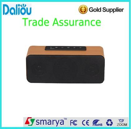 wholesale 20w wooden bluetooth speaker with USB port and FM function